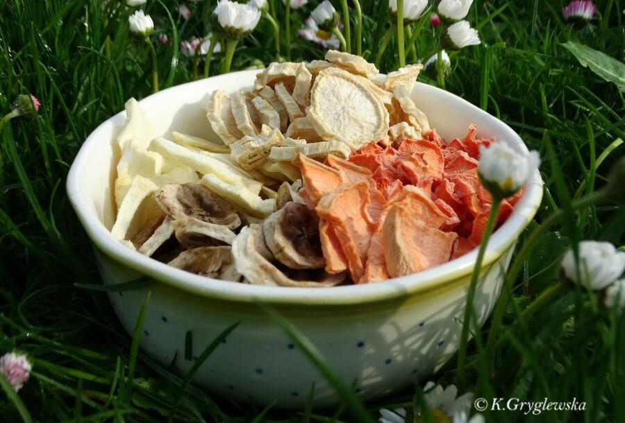 Suszenie warzyw i owoców