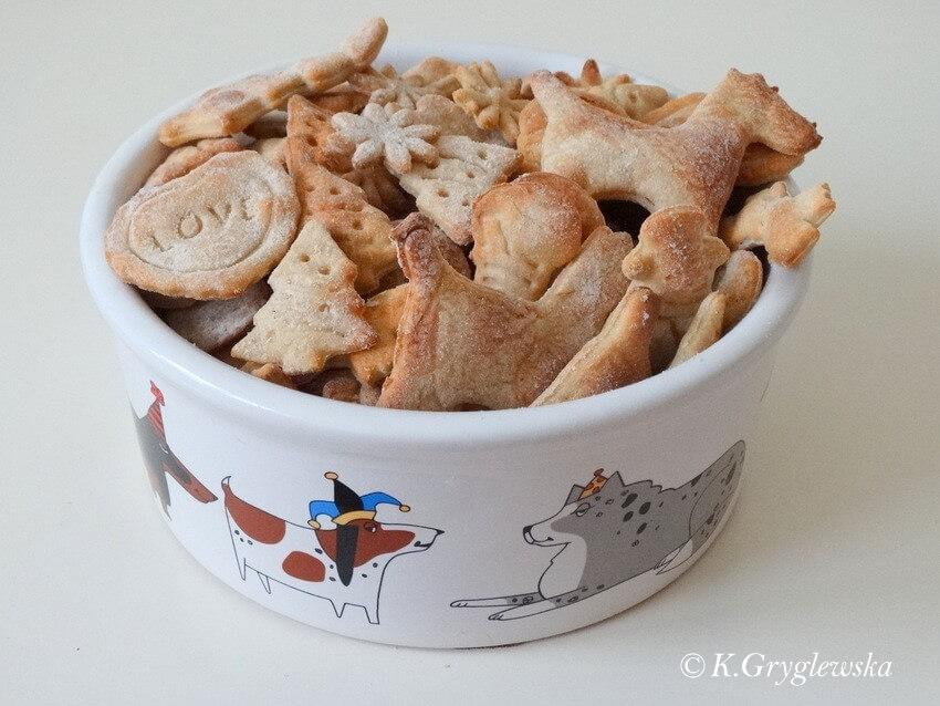 psie ciastka tunczykowe