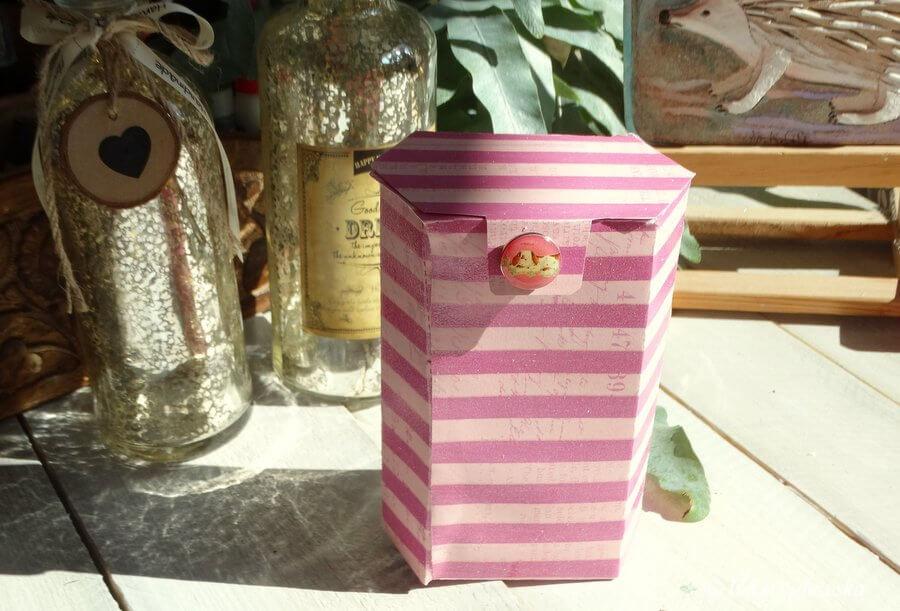 pudełko handmade