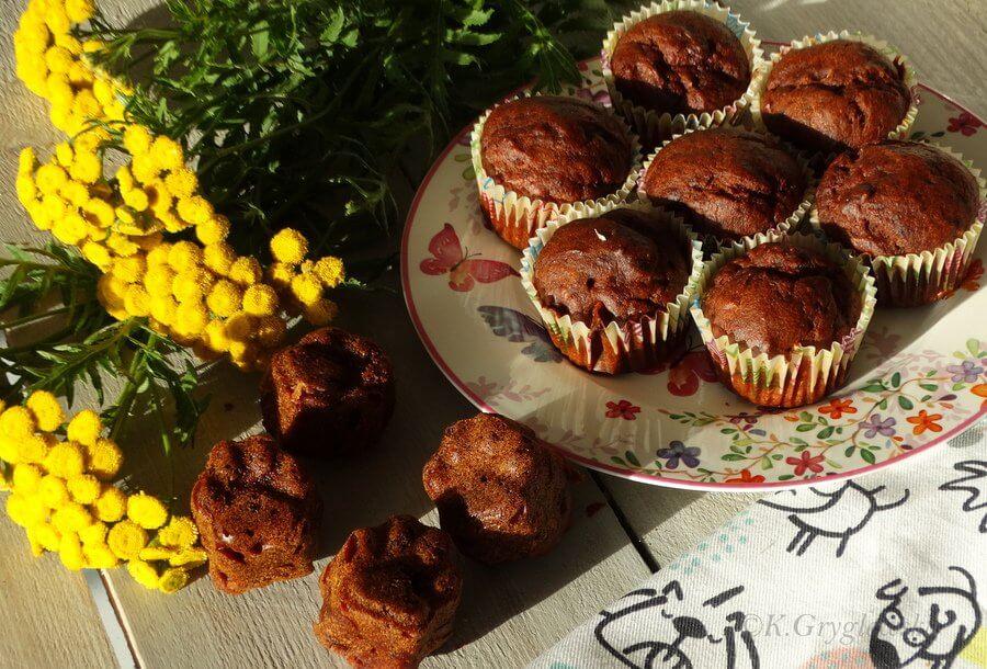 ciasto pomidorowe muffinki