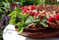 tort z pomidorów