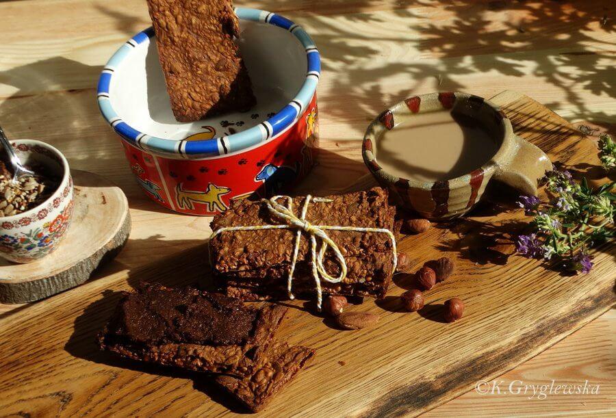 norewski chleb i krem czekoladowy