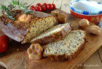 chleb bezglutenowy z ciecierzycy