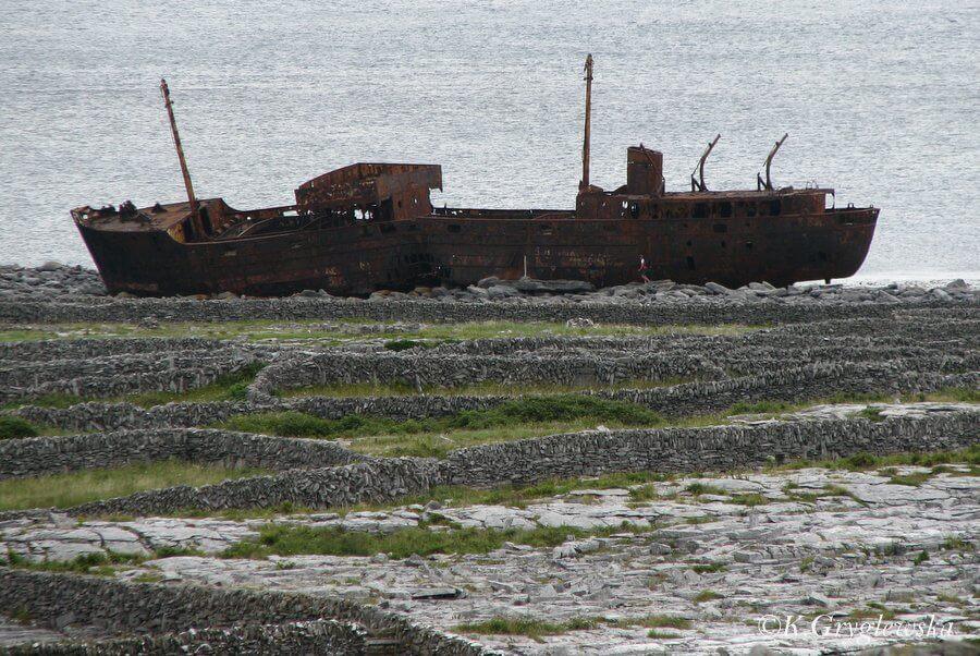 Irlandia wrak statku Plassey