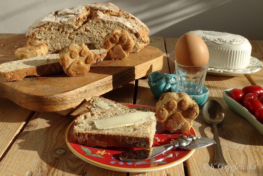 chleb irlandzki sodowy