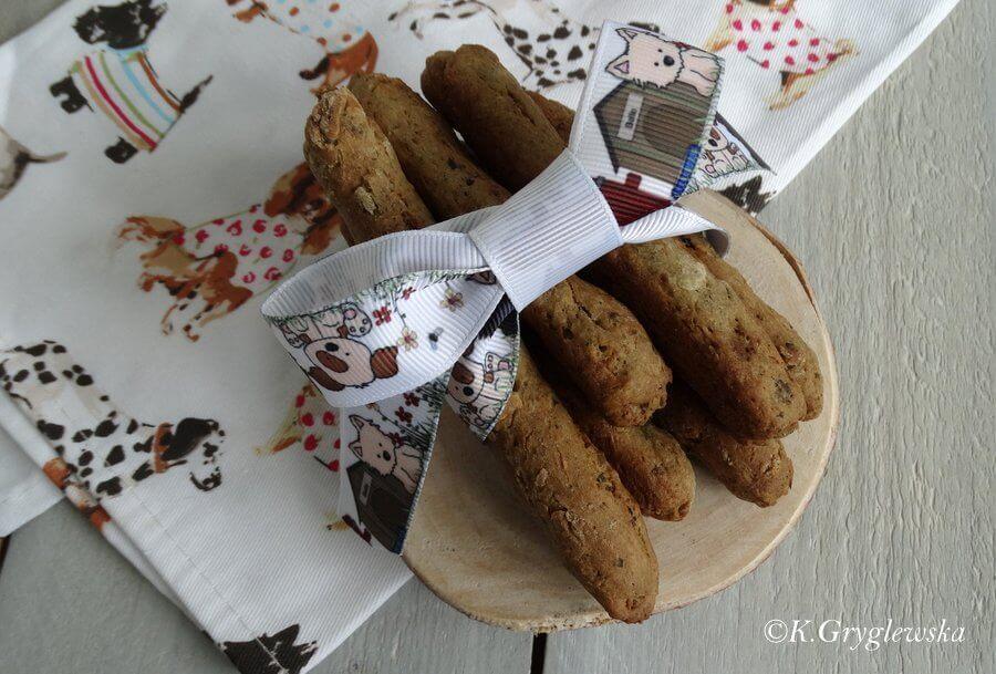 watrobkowe ciastka dla psa 1